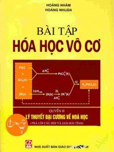 Bài tập hóa học vô cơ Quyển II